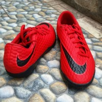 Sepatu Futsal Nike Hypervenom Phelon X IC University Red Original