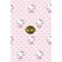 Grosir Murah   Wallpaper Sticker Dinding Hello Kitty Pink 10 M X 45 Cm
