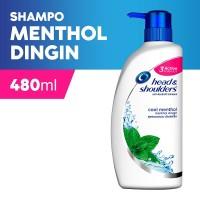 HEAD & SHOULDERS Shampoo Anti Dandruff Menthol Dingin 480ml