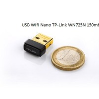 USB Nano Wireless Wifi Receiver N Adapter TP-LINK TL-WN725N 150Mbps