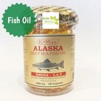 K-Max Alaska Deep Sea Fish Oil 100 Caps
