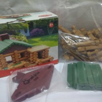 Forest Log set (Set rumah hutan)