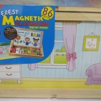 Magnetic playboard (Papan bermain magnetik)