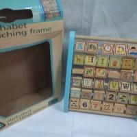 Alphabet frame (Bingkai alfabet)