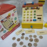 Wooden cash register (Kasir kayu)