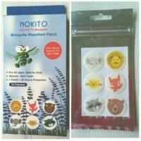 6pcs Stiker anti nyamuk NOKITO baby anti mosquito patch penolak nyamuk