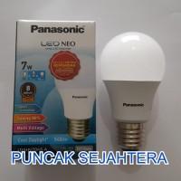 (Dijamin) Lampu LED Panasonic 7w 7 watt NEO