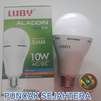 (Dijamin) Lampu LED emergency LUBY Aladdin 10w 10 watt