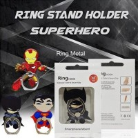 IRING  STAND SUPERHERO IPHONE CAPTAIN AMERICA IRONMAN BATMAN SPIDERMAN