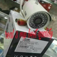 TERBARU CAMERA CCTV HISOMU REAL 3 MP BEST QUALITY