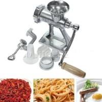 mesin penggiling daging sayur buah manual mincer multiuse