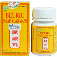 Jual Beuric (Niau Xuan Wan) Botol Isi 50 - Untuk asam urat dan kolesterol -  Jakarta Pusat - moermer   Tokopedia