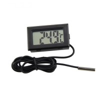Thermometer Digital LCD Probe Aquarium Freezer Cooler Chiller *TS09