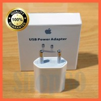 Charger Adapter iPhone iPad Original Ori Batok Kepala Adaptor Plug AC