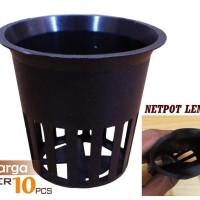 Net Pot - Netpot Lubang Flanel Hydroponic  Hidroponik [5,5cm]