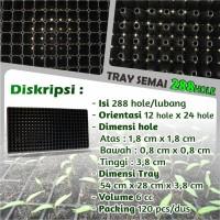 Tray Semai Pot Tray - Bibit Untuk Benih Tanaman 288 Hole