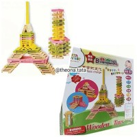 (Murah) Wooden Toys Building Block