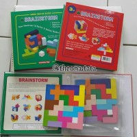 (Diskon) Windmill Brainstorm 3D Puzzle Blocks