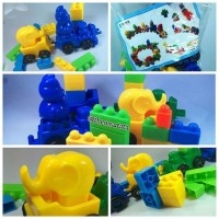 (Murah) Mainan Bricks Lego Blocks Yaohui Toys Model Lego Kereta Animal