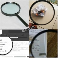 Lup Kaca Pembesar ~ Diameter 90 mm / 9 cm - Magnifying Glass Magnifier