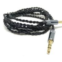 laris DIY Kabel M2M OFC AUX Cable 3.5mm Male to Male 1.25M