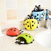 Ladybug toothbrush holder tempat sikat gigi odol motif kumbang HSP002