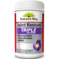 Natures Way Joint Restore Triple Action 120 Kp Glucosamine Chondroitin