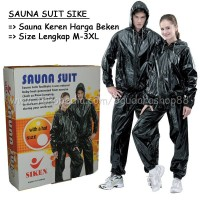 Sauna suit/ Baju Sauna/ Sauna suit siken/ Baju sauna si Limited