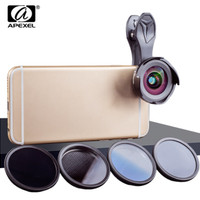 APEXEL 16 MM LENS KIT HD PRO WIDE ANGEL/MACRO LENS WITH FILTER CPL ND
