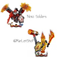 Mainan Edukasi Lele Nexo Soldiers Lego 79313 set C+D