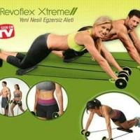 Alat olah raga gym fitnes refoflek extreme