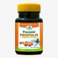 Procumin Habbatussauda rich propolis - procumin kuning