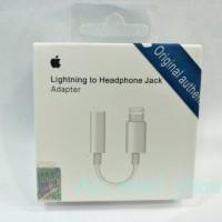 Kabel Sambungan Audio Lighting Jack Handsfree iphone 7 8.Original 100