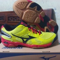 MIZUNO WAVE TWISTER 4 ORIGINAL, sepatu badminton voli volly volleyball