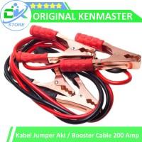 ORIGINAL KENMASTER Kabel Jumper aki 200 amp, Booster Cable 2M 200 Amp