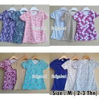 2-3 Thn # Baju Atasan Anak Perempuan Bahan Kaos - Harga Grosir Murah