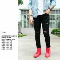 Skinny Jeans Pria /Ripped Jeans Pria /Celana Jeans Premium