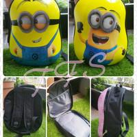 Tas Punggung / Backpack / Ransel Anak Hardcase Minion