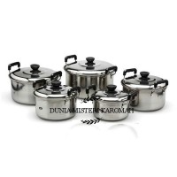 Panci Stainless Steel 5 set full
