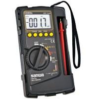 Multimeter Avometer digital Multitester + kabel tester Sanwa CD800A