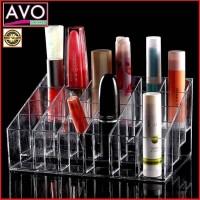 rak tempat lipstik makeup praktis - acrylic 24 spot cosmetic