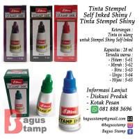 Tinta Stempel Self Inked Shiny / Tinta Stempel Shiny