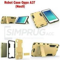 Case Untuk Oppo Neo9 A37 Neo 9 Armor Robot Rugged Ironman Transformer