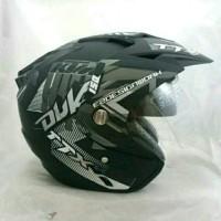 Helm Double Visor KTM Duke Grey Doff