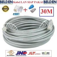 Kabel LAN Belden 30 M UTP RJ45 Cat5E ORIGINAL USA 30 Meter