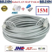 Kabel LAN Belden 15 M UTP RJ45 Cat5E ORIGINAL USA 15 Meter