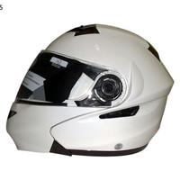 Kaca Helm Snail 815/803/888/INK Fusion/Senza /Airoh Modular Revo Blue