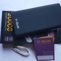 Powerbank V-GeN 20000mAh V20K1 Polymer Original Real Capacity garansi
