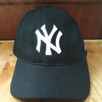 Topi baseball bordir NY baseball cap Newyork topi unisex