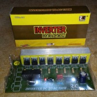 kit inverter dc 12v/24v to ac 220v 750 watt
